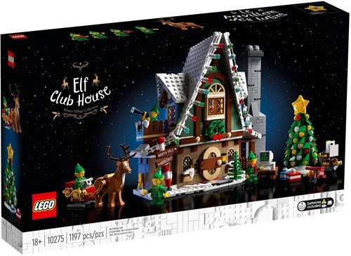 LEGO Creator Expert 10275 Elf Clubhuis