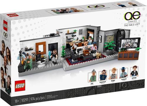 LEGO Creator Expert Queer Eye - The Fab 5 Loft - 10291