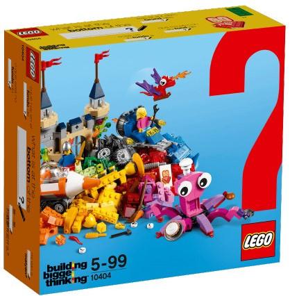 LEGO Classic De bodem van de oceaan - 10404