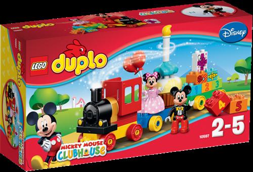 LEGO DUPLO Mickey Mouse™ 10597 Mickey & Minnie Verjaardagsoptocht