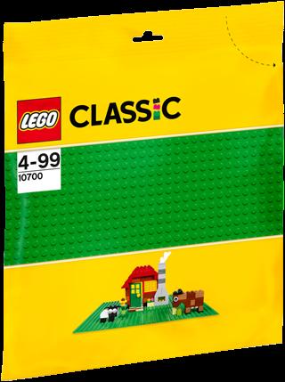 LEGO Classic Groene bouwplaat 32x32 - 10700