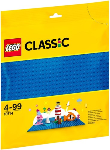 LEGO Classic Blauwe basisplaat 32x32 - 10714