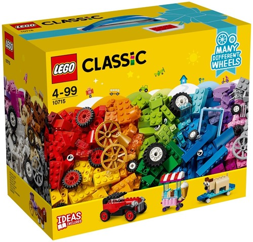 LEGO Classic Stenen op wielen - 10715