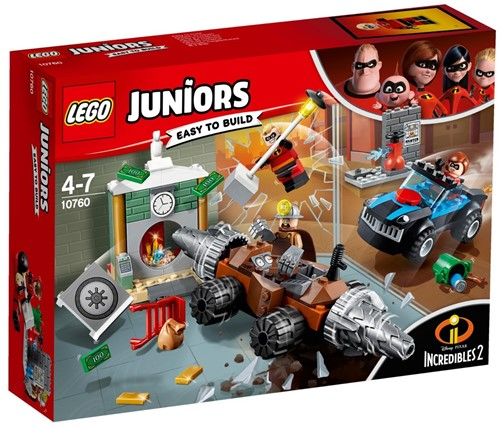 LEGO Juniors 10760 Underminer's bankoverval