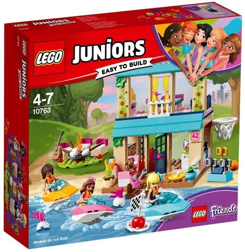LEGO Juniors Stephanie's huisje aan het meer - 10763