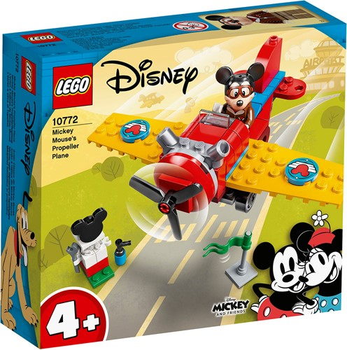 LEGO Disney Mickey and Friends Mickey Mouse Propellervliegtuig - 10772