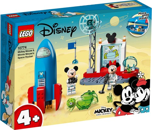 LEGO Disney Mickey and Friends Mickey Mouse & Minnie Mouse ruimteraket - 10774