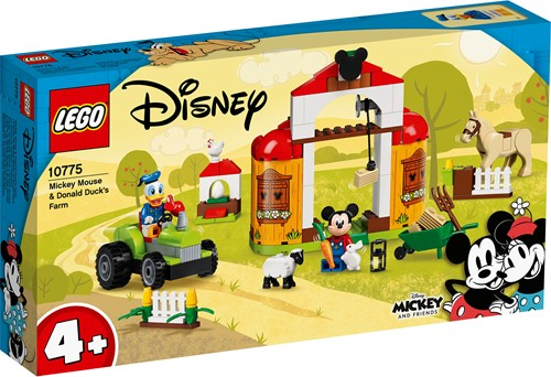 LEGO Disney Mickey and Friends Mickey Mouse & Donald Duck boerderij - 10775