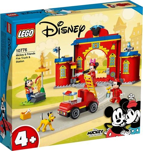 LEGO Disney Mickey and Friends - Mickey & Friends brandweerkazerne & auto - 10776