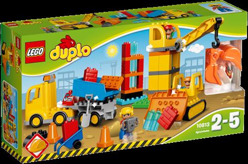 LEGO DUPLO Mijn Stad 10813 Grote bouwplaats