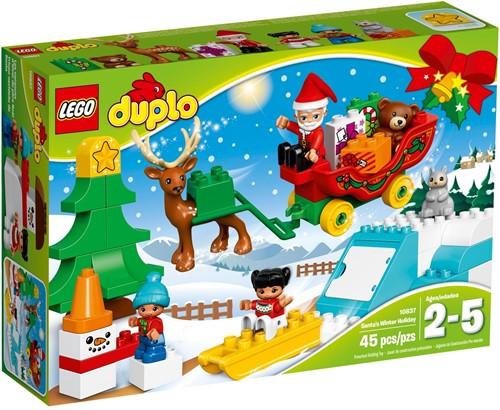 LEGO DUPLO Mijn Stad 10837 Wintervakantie van de Kerstman