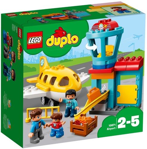 LEGO DUPLO Mijn Stad 10871 Vliegveld