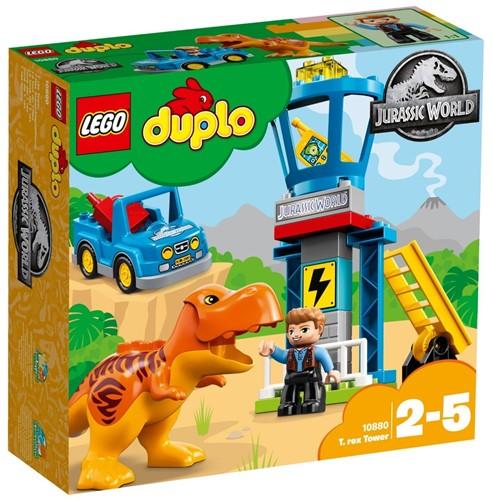LEGO DUPLO Jurassic World™ 10880 T. rex toren