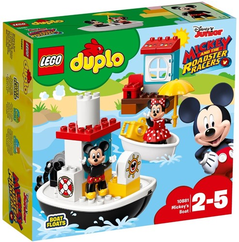 LEGO DUPLO Mickey Mouse™ 10881 Mickey's boot