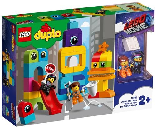 LEGO DUPLO THE LEGO® MOVIE 2™ 10895 Visite voor Emmet en Lucy van de DUPLO® Planeet