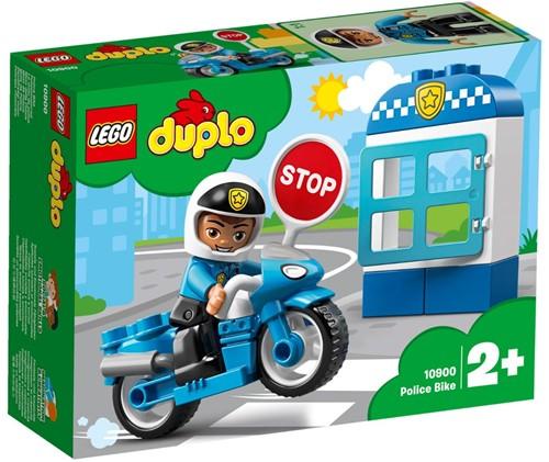 LEGO DUPLO Mijn Stad Politiemotor - 10900