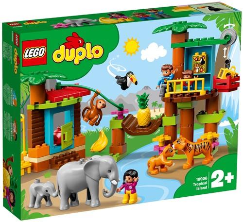 LEGO DUPLO World Animals 10906 Tropisch eiland