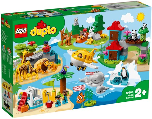 LEGO DUPLO World Animals 10907 Dieren van de wereld