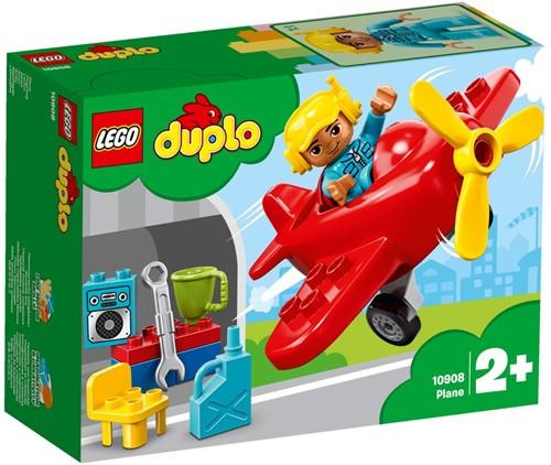 LEGO DUPLO Mijn Stad Vliegtuig - 10908