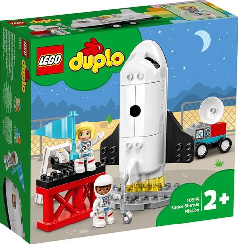 LEGO DUPLO Stad Space Shuttle missie - 10944