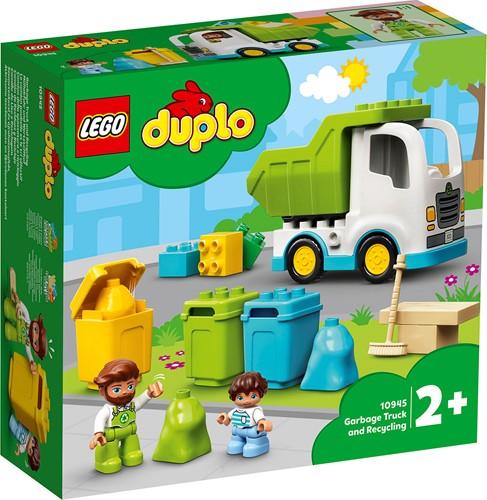 LEGO DUPLO Stad Vuilniswagen en recycling - 10945