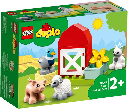 LEGO DUPLO Mijn Stad Boerderijdieren verzorgen - 10949
