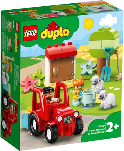 LEGO DUPLO Mijn Stad Landbouwtractor en dieren verzorgen - 10950