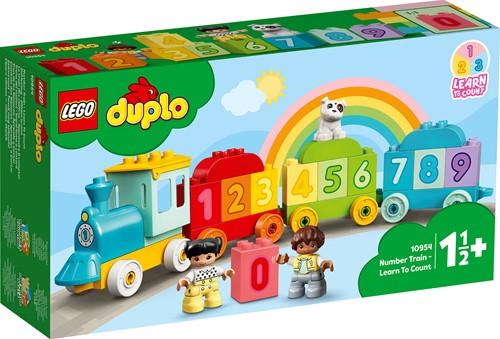 LEGO DUPLO Getallentrein - Leren tellen - 10954