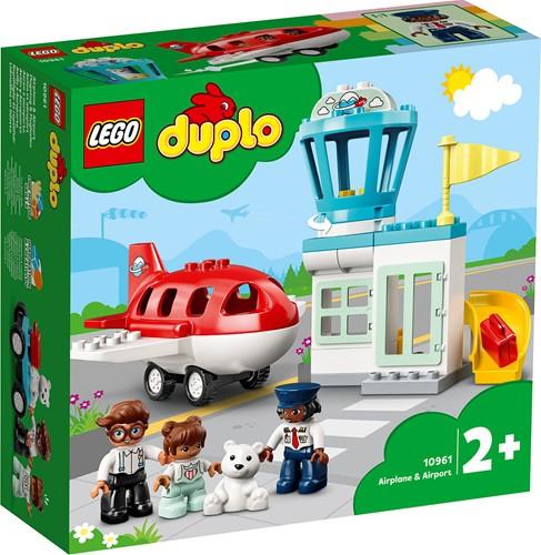 LEGO DUPLO Stad Vliegtuig & vliegveld - 10961