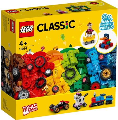 LEGO Classic Stenen en wielen - 11014