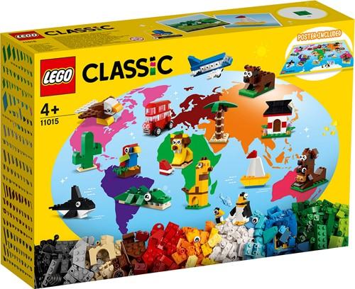 LEGO Classic Rond de wereld - 11015