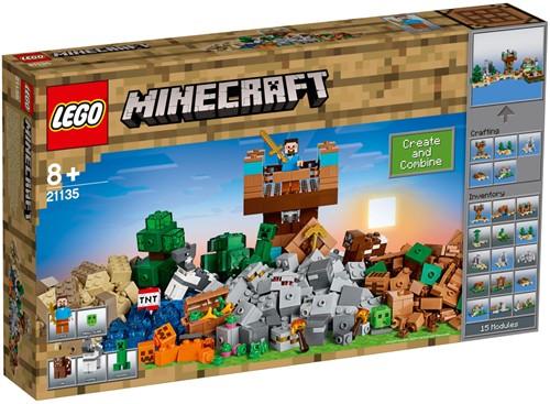 LEGO Minecraft™ 21135 The Crafting Box 2.0