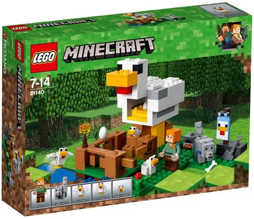 LEGO Minecraft™ The Chicken Coop - 21140