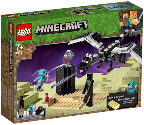 LEGO Minecraft™ 21151 The End Battle