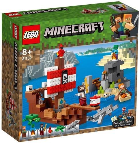 LEGO Minecraft™ 21152 The Pirate Ship Adventure