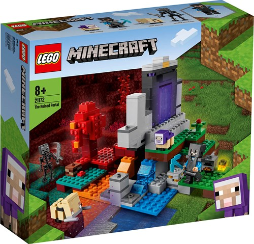 LEGO Minecraft™ The Destroyed Portal - 21172