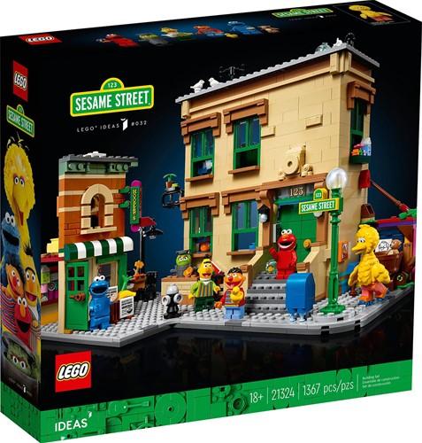 LEGO Ideas 123 Sesame Street - 21324