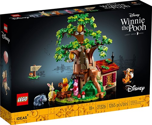 LEGO Ideas Winnie de Poeh - 21326