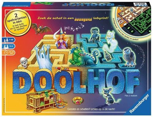 Doolhof - Glow in the Dark - Bordspel