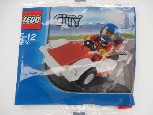 LEGO City 30150 Racewagen (polybag)