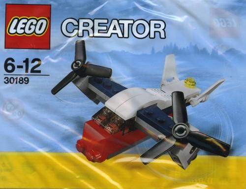 LEGO Creator Transportvliegtuig (polybag) - 30189