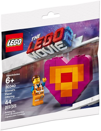 The LEGO® Movie 2™ Emmet's 'Piece' Offering (polybag) - 30340