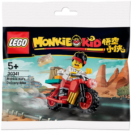LEGO Monkie Kid's bezorgfiets (polybag) - 30341