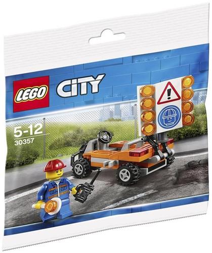 LEGO City Wegwerker (polybag) - 30357