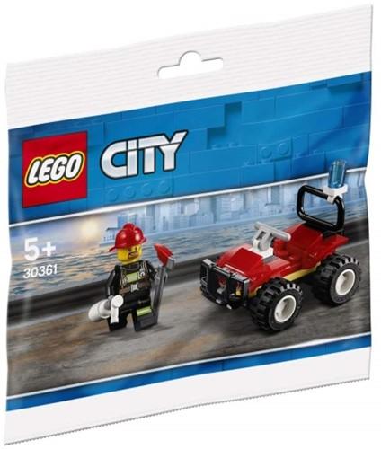 LEGO City 30361 Brandweer Quad (polybag)