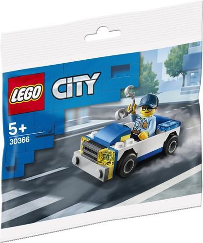 LLEGO City Politieauto (polybag) - 30366