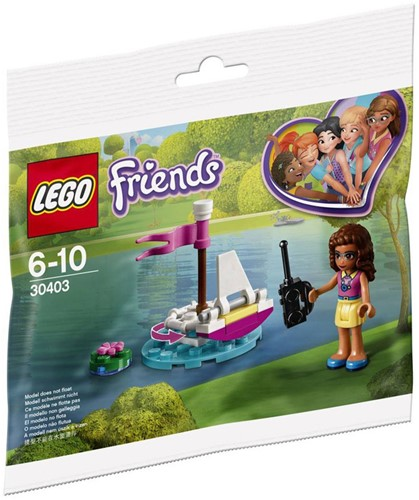 LEGO Friends 30403 Olivia's RC boot (polybag)