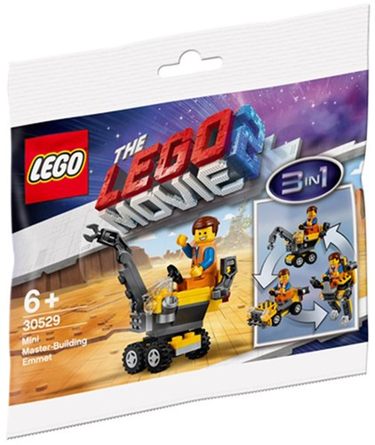 The LEGO® Movie 2™ 30529 Mini Master-Building Emmet (polybag)