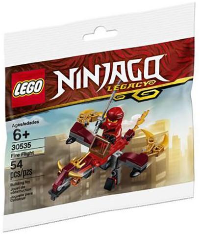 LEGO NINJAGO® Kai en de Vuurdraak (polybag) - 30535