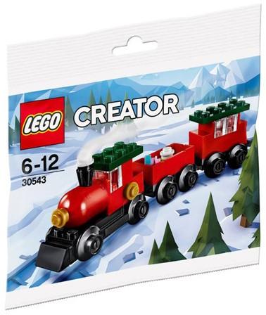 LEGO Creator 30543 Kersttrein (polybag)